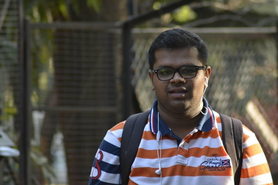 Shrikant Tapkeer - college days pic